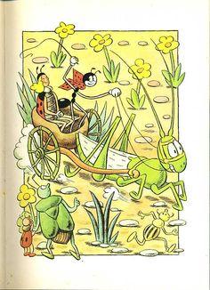 polny_shkaf: Секора, Ондржей. Приключения муравья Ферды. Прага: Альбатрос. 1981 г. Joker Hd Wallpaper, Cartoon Toys, Artist Profile, My Favorite Image, Typography Prints, Amazing Adventures, Children's Book Illustration, Ants, Childrens Books