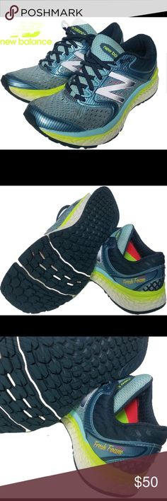 New balance model w108v7 size 8 best offers New balance size 8 blue & lime green in great condition New Balance Shoes Sneakers