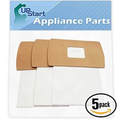 15 replacement type bb buster b vacuum bags for oreck - compatible with oreck  xl2,