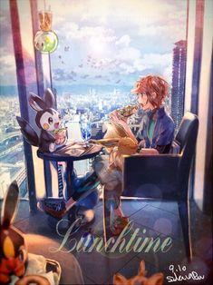Image about kawaii in Anime and manga by sue on We Heart It Flareon Pokemon, Pokemon Comics, Pokemon Fan Art, Pokemon Games, Cute Pokemon, Pokemon Go, Pikachu, Black Pokemon, Pokemon Special