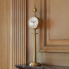 Tower Clock-Brass...from Global Views