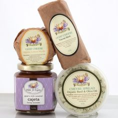 Herbaceous Goat Milk Cheeses and Cajeta Milk And Cheese, Goat Cheese, Cheese Lover, Goat Milk, Queso, Goats, Breakfast Recipes, Herbs, Appetizers