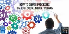 """""""If you don't have a process, you don't know anything"""" - Professor Edwards Deming. Learn how to create processes to streamline your social media efforts."""