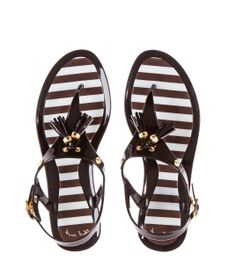 I want these!!!!  Hamptons Jelly Sandals | Products | Henri Bendel