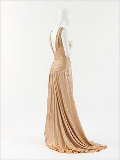 Robe du soir, Chanel, 1934