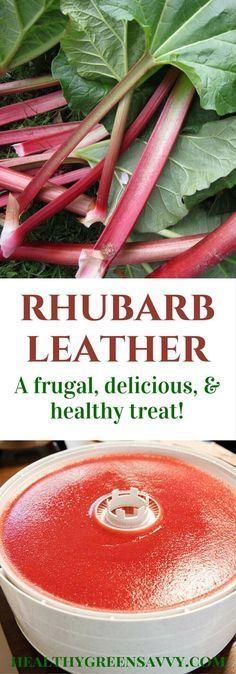 Rhubarb Recipes, Fruit Recipes, Vegetable Recipes, Healthy Recipes, Jelly Recipes, Homemade Fruit Leather, Fruit Leather Recipe, Fruit Roll Ups, Dehydrator Recipes