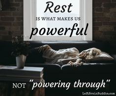 An ode to REST. #mindfulness #selfcare
