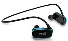 Pyle Waterproof Player for Swimming Sports, 4 GB Memory Swimming Sport, Mp3 Player, Headphones, Diving, Coloring Books, Sports, Boxes, Presents, Top