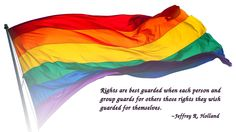 I value the right to legally marry the consenting adult that I love, so I guard that right for others too. #fairness4all
