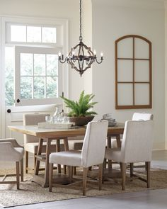 10 Trendy Farmhouse Chandeliers Dining Room Light Fixtures, Kitchen Lighting Fixtures, Dining Room Lighting, Elegant Dining Room, Dining Room Design, Farmhouse Chandelier Lighting, Wood Pendant Light, Pendant Lights, Before And After Weightloss