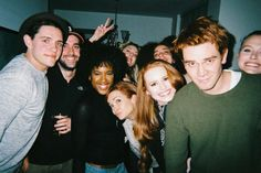 """When the squad took this adorable group photo. 