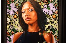 "Kehinde Wiley ""An Economy of Grace"" Opening At Sean Kelly Gallery, previously at the SCAD Museum of Art."