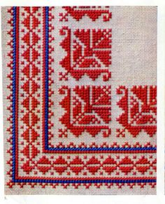 Cross Stitch Geometric, Cross Stitch Borders, Cross Stitch Samplers, Modern Cross Stitch, Cross Stitch Designs, Cross Stitch Patterns, Folk Embroidery, Cross Stitch Embroidery, Embroidery Patterns
