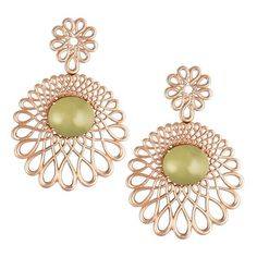 Pre-owned Carla Amorim 18K Rose Gold Earrings ($2,400) ❤ liked on Polyvore featuring jewelry, earrings, earrings jewelry, 18 karat gold jewelry, 18k earrings, red gold jewelry and pink gold earrings