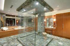 My kind of ensuite bathroom!
