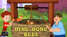 Ding Dong Bell Pussy's In The Well | HD Nursery Rhyme with Lyrics | Cart...
