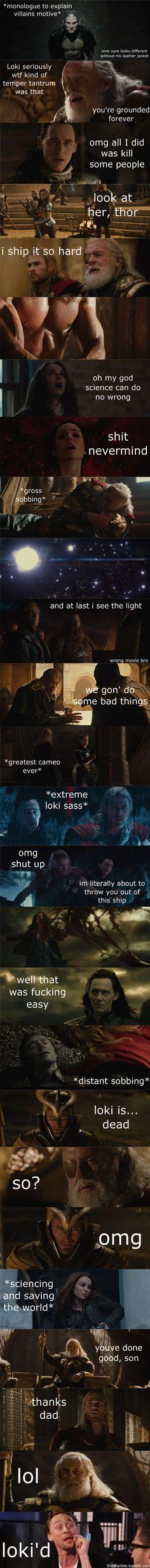 Marvel in a Nutshell: Thor: The Dark World