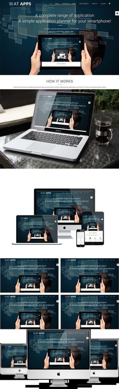 AT Apps Joomla! template. Joomla Themes. $19.00