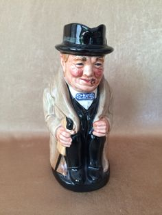 Vintage Toby Jug Winston Churchill Royal Doulton by DotnBettys
