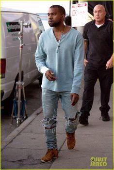 Kanye West | Raddest Men's Fashion Looks On The Internet: http://www.raddestlooks.org