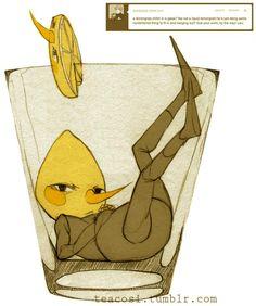 lemonade lemongrab fanart #lemongrab #adventuretime