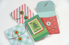 More Gift card holder ideas