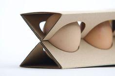 Sophie Wijaya | Design + Direction - Blog - Egg Carton From Single Piece of Cardboard