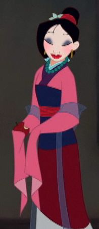 mulan pink dress pictures - 196×453