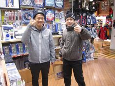 【大阪店】2014.12.13 ニットキャップをご購入頂きました。ナイスなスマイルありがとうございます!!またのご来店お待ちしております。