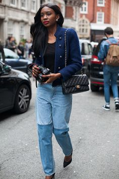 54 street style photos from London Fashion Week #LFW #chanel
