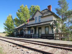 Rowley AB train station