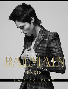 Coco Rocha for Balmain Hair Couture FW17 Campaign