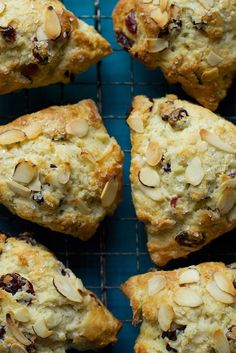 Scones Recipe - scoop dough onto baking sheet and freeze. Bake fresh scones when you need them. Make up batches of assorted flavors to serve at brunch Basic Scones, 13 Desserts, King Arthur Flour, Quick Bread, Sweet Bread, Donuts, Breakfast Recipes, Scone Recipes, Breakfast Scones