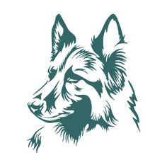 German Shepherd Cuttable Design Cut File. Vector, Clipart, Digital Scrapbooking Download, Available in JPEG, PDF, EPS, DXF and SVG. Works with Cricut, Design Space, Sure Cuts A Lot, Make the Cut!, Inkscape, CorelDraw, Adobe Illustrator, Silhouette Cameo, Brother ScanNCut and other compatible software.