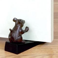 One of my favorite discoveries at WorldMarket.com: Mouse Door Stop