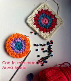 Mattonella a uncinetto Anna Bruno Spiegazioni