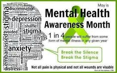Mental health awareness                                                                                                                                                                                 More