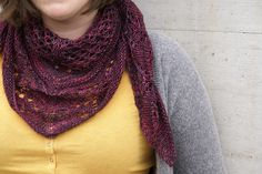 Ravelry: Cassiope pattern by Alexandra Beck (free pattern, one skein of Tosh Sock)
