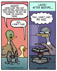 Fowl Language Comics - by Brian Gordon Funny Cartoons, Funny Comics, Funny Jokes, Hilarious, Funny Sayings, Fowl Language Comics, Brian Gordon, Funny Images, Funny Pictures