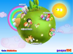 .: Colegio Jesús María - Uruguay :; Online Logo, Teaching Spanish, Activity Games, Christmas Bulbs, Diy Crafts, Learning, Holiday Decor, Birthday, Blog