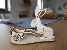 Vector laser pen box by CoiDesignStudio on Etsy Easter Art, Easter Crafts, Kids Table Chair Set, Laser Cut Mdf, Laser Cutting, Laser Cutter Projects, Easter Table Decorations, Scroll Saw Patterns, Animal Projects