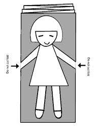 paper chain dolls - Pesquisa Google