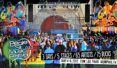 Beale Street Music Festival in Memphis, TN I'll be there again this year!