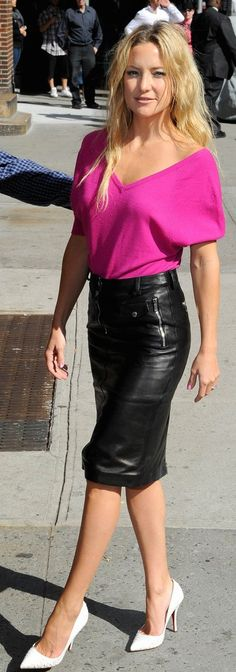 just saw a leather skirt like this I want and have been thinking of what would look good with it...