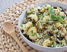 Recipe | Warm Cauliflower and Israeli Couscous Salad
