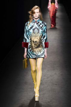 Alessandro Michele Borrows From the '70s For Another Vibrant Gucci Collection - Fashionista