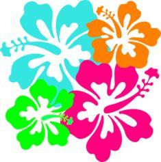 where to find hawaiian borders pinterest clip art free hawaiian rh pinterest com hawaiian flower clipart png hawaiian flower clipart free