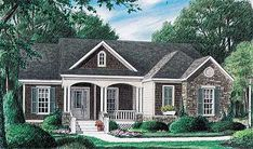 Discover the Portsfield Craftsman Ranch Home that has 3 bedrooms and 2 full baths from House Plans and More. See amenities for Plan Cottage Floor Plans, Cottage Style House Plans, Southern House Plans, Bungalow House Plans, Ranch House Plans, Craftsman House Plans, Country House Plans, Dream House Plans, Cottage Homes