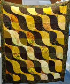 Autumn Quilt - like Rainforest, but with a slightly sharper curve