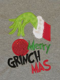 All kids big and little love the Grinch That Stole Christmas! Let them celebrate the holidays in this cute Merry Grinchmas t-shirt. You can also find an adult size of this shirt on our Etsy store site. Grinch Christmas Decorations, Grinch Ornaments, Grinch Christmas Party, Grinch Party, Etsy Christmas, Christmas Shirts, Grinch That Stole Christmas, Xmas Shirts, Christmas Door